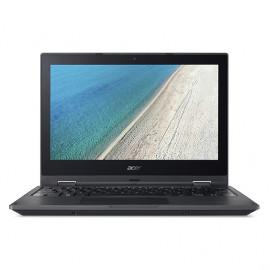 """Ordinateur Portable (2-en-1) TravelMate B118-G2-R-C396 11,6"""" (Intel Celeron, 4 de RAM, 500 Go HDD, Windows 10 Pro) Noir"""